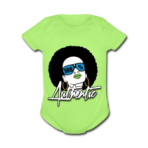 100% Authentic Baby Short Sleeve One Piece - Short Sleeve Baby Bodysuit