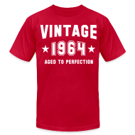 T-Shirts ~ Men's T-Shirt by American Apparel ~ Vintage 1964 aged to perfection
