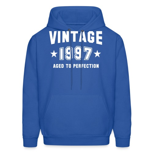 Vintage 1997 aged to perfection - Men's Hoodie