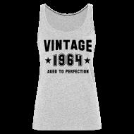 Tanks ~ Women's Premium Tank Top ~ Vintage 1864 aged to perfection