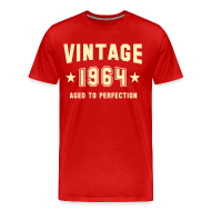 T-Shirts ~ Men's Premium T-Shirt ~ Vintage 1964 aged to perfection