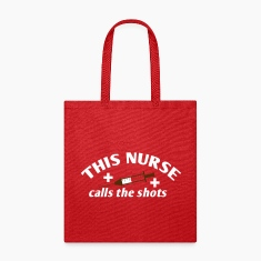This NURSE calls the shots Bags & backpacks