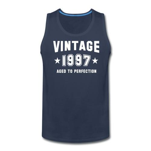 Vintage 1997 aged to perfection - Men's Premium Tank