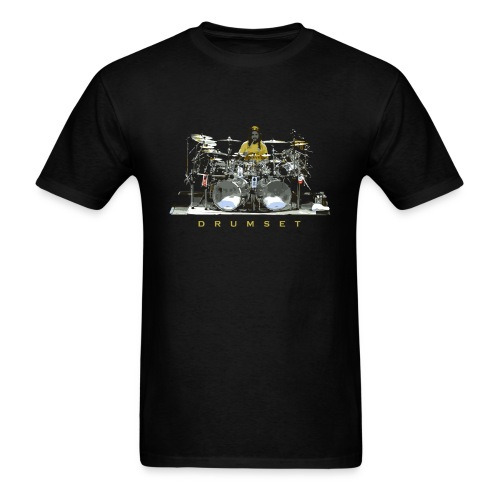 Drumset Drum Music - Men's T-Shirt