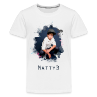 Kids' Shirts ~ Kids' Premium T-Shirt ~ MattyB Splash Kids T-Shirt