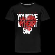Kids' Shirts ~ Kids' Premium T-Shirt ~ Heart Skip Kids T-Shirt