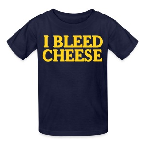 I Bleed Cheese - Kids' T-Shirt