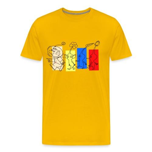 Pikmin Trails - Men's Premium T-Shirt