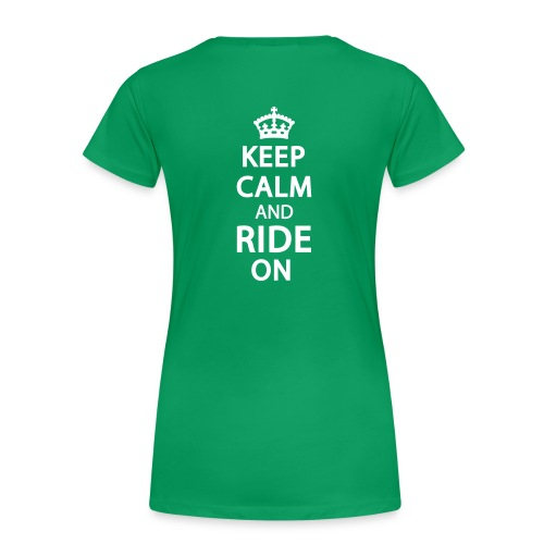 Wisconsin Trail Sister Plus Size- keep calm - Women's Premium T-Shirt