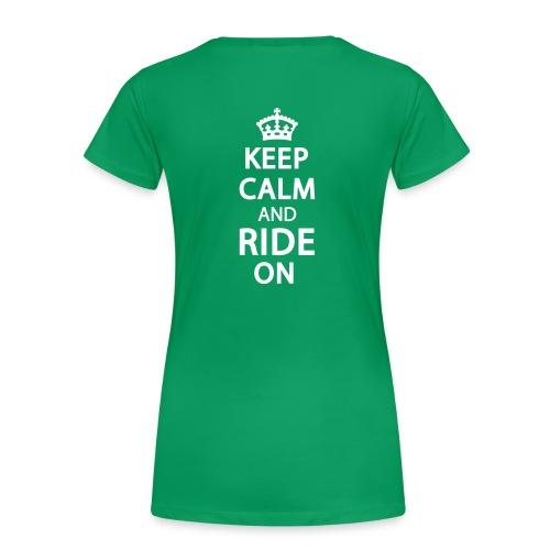 Wisconsin Trail Sister Plus Size- keep calm - Women's Premium T-Shirt