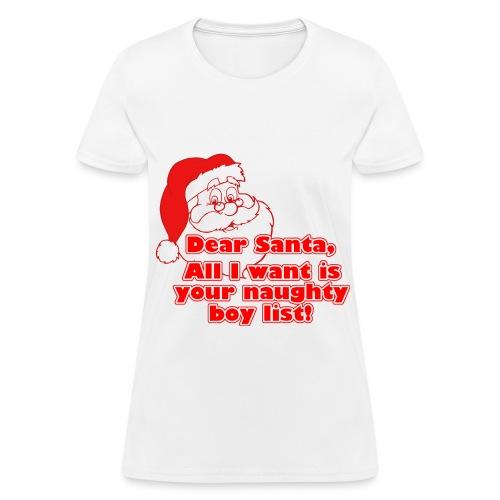IT'S SANTA - Women's T-Shirt