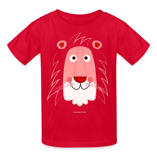 Lion Face T-Shirt - Kids' T-Shirt