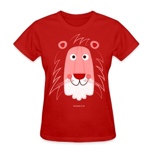 Lion Face Women's T - Women's T-Shirt