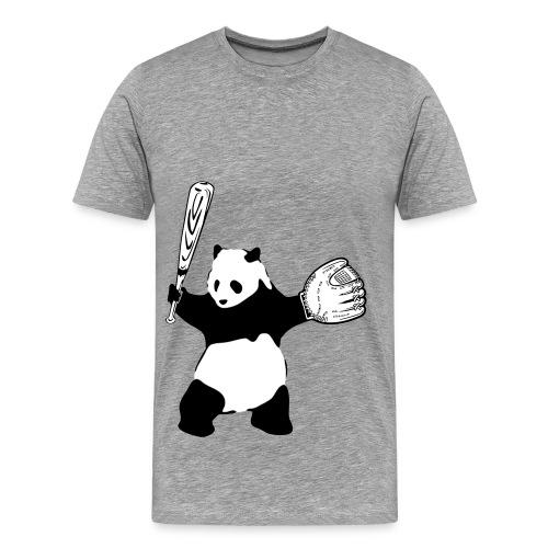 Panda Baseball - Men's Premium T-Shirt