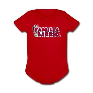 LFDB (logo) - Short Sleeve Baby Bodysuit