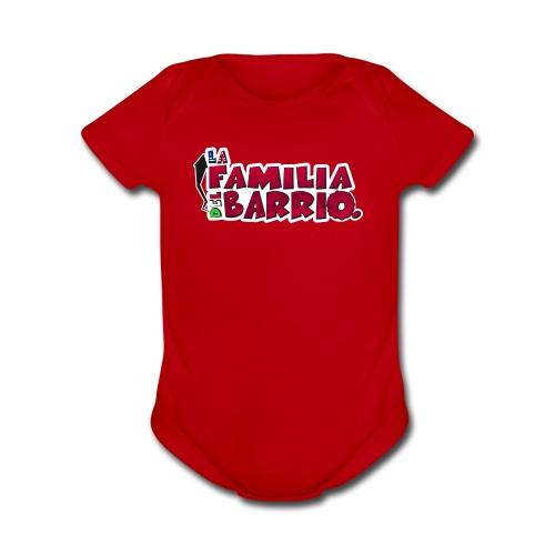 LFDB (logo) - Organic Short Sleeve Baby Bodysuit