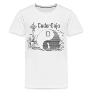 Retro ASCII Logo Kids - Kids' Premium T-Shirt