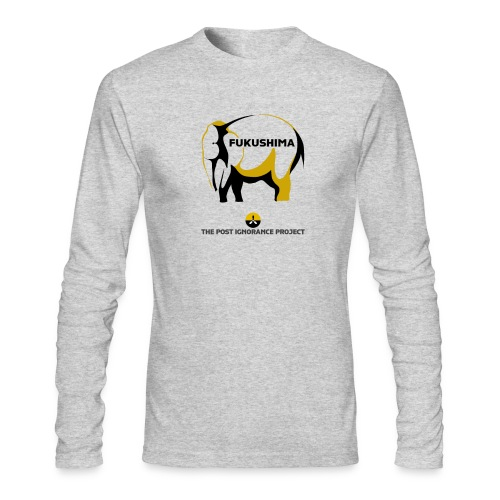 Elephant In the Room (Mens Long Sleeve Shirt) - Men's Long Sleeve T-Shirt by Next Level