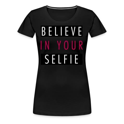 SELFIE - Women's Premium T-Shirt