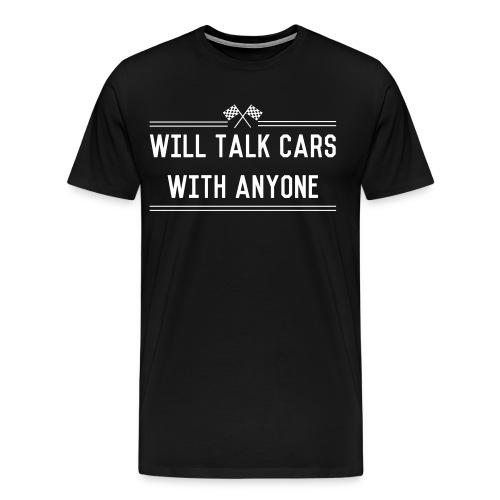 TALK CARS - Men's Premium T-Shirt