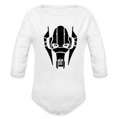 general grievous - Organic Long Sleeve Baby Bodysuit