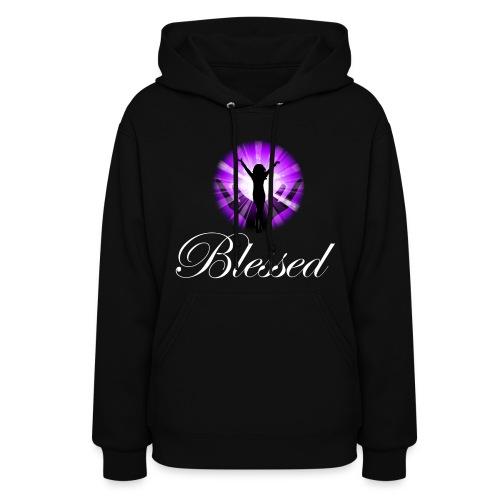 Blessed Women's Hooded Sweatshirt - Women's Hoodie