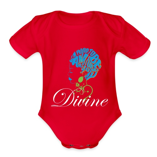 Divine Baby Short Sleeve One Piece - Organic Short Sleeve Baby Bodysuit