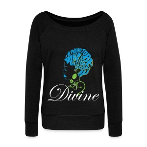 Divine Women's Wideneck Sweatshirt - Women's Wideneck Sweatshirt