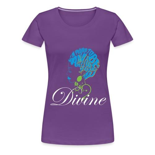Divine Women's Premium T-Shirt  - Women's Premium T-Shirt
