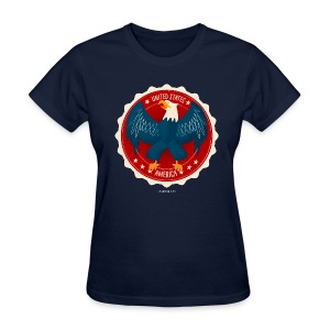 U.S.A. Eagle Women's T - Women's T-Shirt