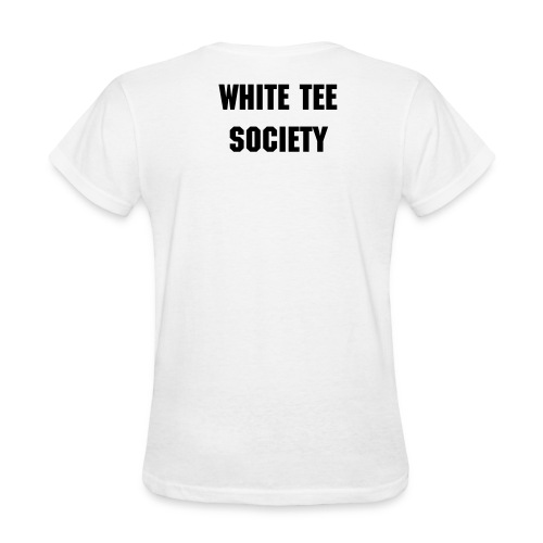 white tee boi - Women's T-Shirt