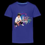 Kids' Shirts ~ Kids' Premium T-Shirt ~ MattyB Stars & Hearts Kids T-Shirt