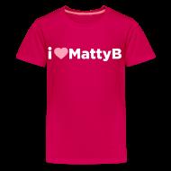 Kids' Shirts ~ Kids' Premium T-Shirt ~ I Heart MattyB Kids T-Shirt