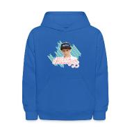 Sweatshirts ~ Kids' Hoodie ~ MattyB Stripe Kids Hoodie