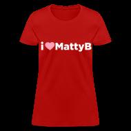T-Shirts ~ Women's T-Shirt ~ I Heart MattyB Womens T-Shirt