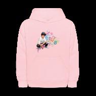 Sweatshirts ~ Kids' Hoodie ~ MattyB Stars & Hearts Kids Hoodie