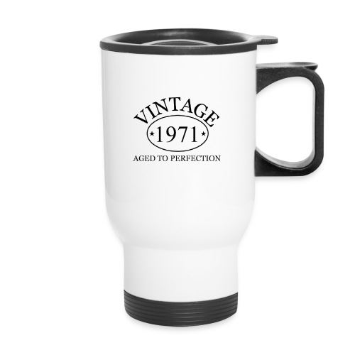 Vintage 1971 aged to perfection - Travel Mug