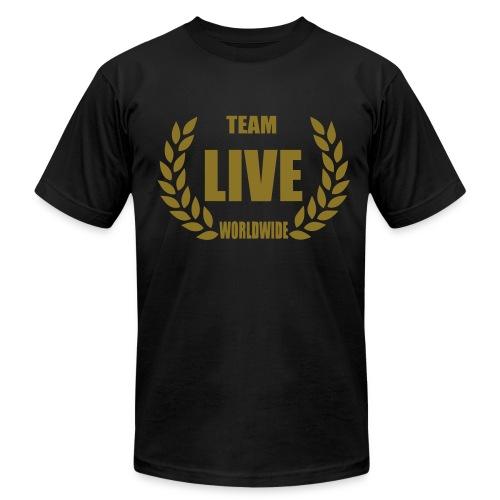 LIVE WORLDWIDE - Men's Fine Jersey T-Shirt