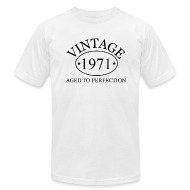 T-Shirts ~ Men's T-Shirt by American Apparel ~ Vintage 1971 aged to perfection