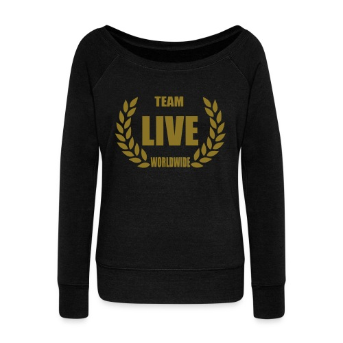 Women's Wide Neck LIVEWorlldWide - Women's Wideneck Sweatshirt