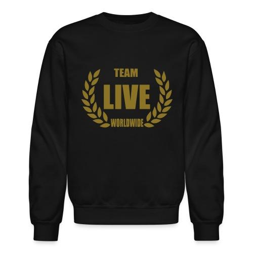 Mens LIVE Worldwide Crewneck - Crewneck Sweatshirt
