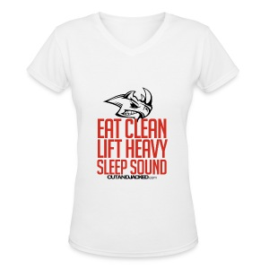 Sleep sound | Womens Tee - Women's V-Neck T-Shirt