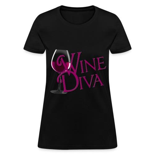 Wine Diva! - Women's T-Shirt