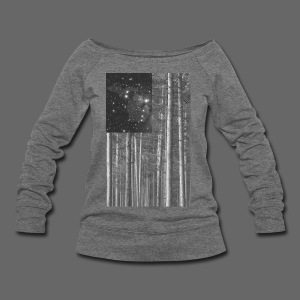 Stars and Pines - Women's Wideneck Sweatshirt