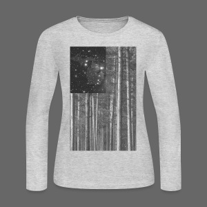 Stars and Pines - Women's Long Sleeve Jersey T-Shirt