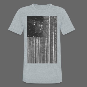 Stars and Pines - Unisex Tri-Blend T-Shirt by American Apparel
