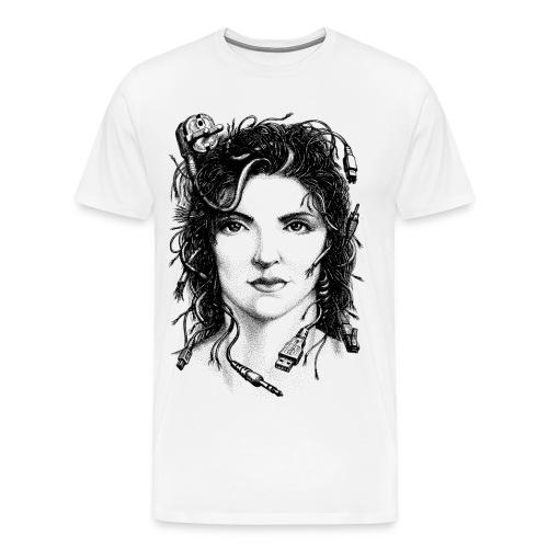 T-Shirt Gorgon Medusa - Men's Premium T-Shirt