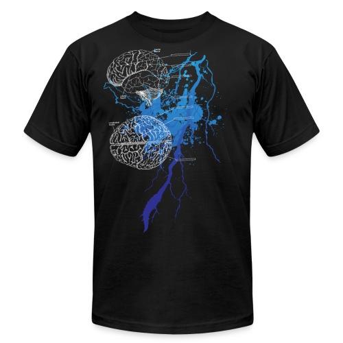 Brain Storm - Men's Fine Jersey T-Shirt