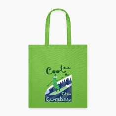 cool as a cucumber Bags & backpacks
