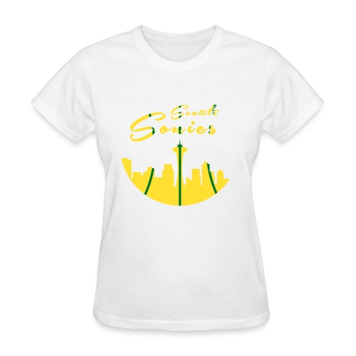 Seattle Sonics Womans T - Women's T-Shirt